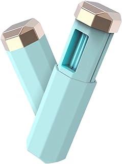 Esterilizador Ultravioleta Portatil Lampara Ultravioleta Desinfeccion sin Productos Químicos para Máscaras Telefono Home Hotel(Verde)