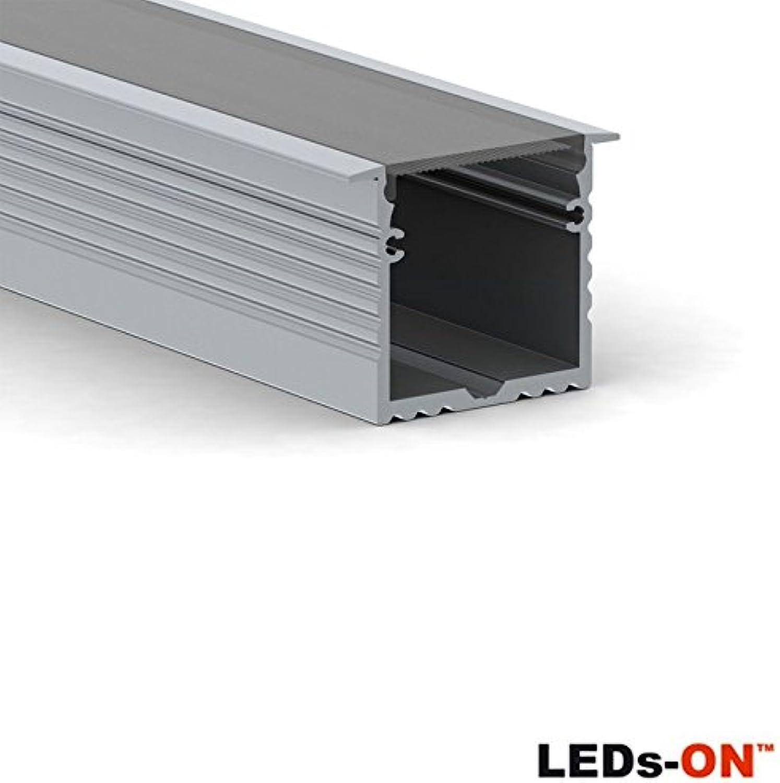 LED S On Recessed Powerline 35mm Profil Aluminium eingebaut LED 2Meter RPLA
