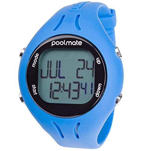 Swimovate 2 Schwimmarmbanduhr, Pool Mate 2, violett, Unisex, blau, Nicht zutreffend