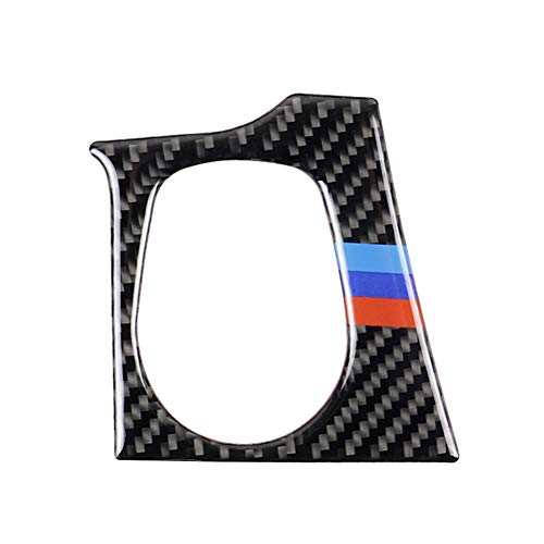 Demarkt Carbon Style para 3er F30 2013-2018/ F34 2013-2017 Auto Start Motor Stop Revestimiento Accesorios