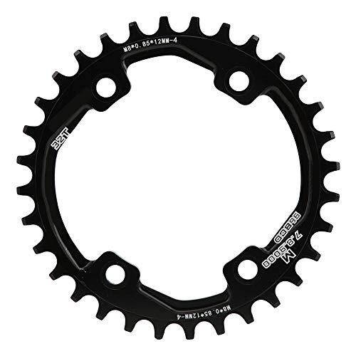 Keenso Plato, BCD 104mm, Accesorio de Ciclismo para M8000/9000 Bici(36T)