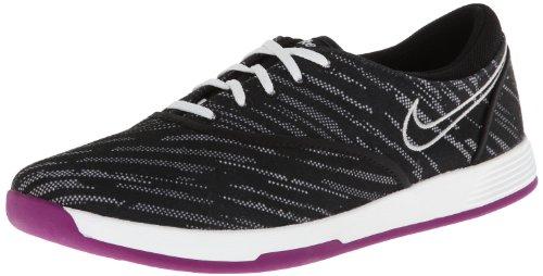 Nike Golf Damen Nike Lunar Duet Sport Golf Schuh, Schwarz - Black/Metallic Silver/White - Größe: 37.5 EU
