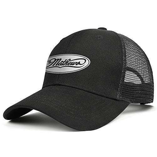 Women's Young Men Baseball Cap Sport Adult Mathews-Archery-Compound-Bow-Lancaster- Adjustable Flat Cap Baseball Hat