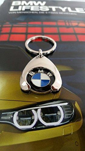 BMW Schlüsselanhänger Einkaufs Chip Einkaufswagen Euro Ersatz
