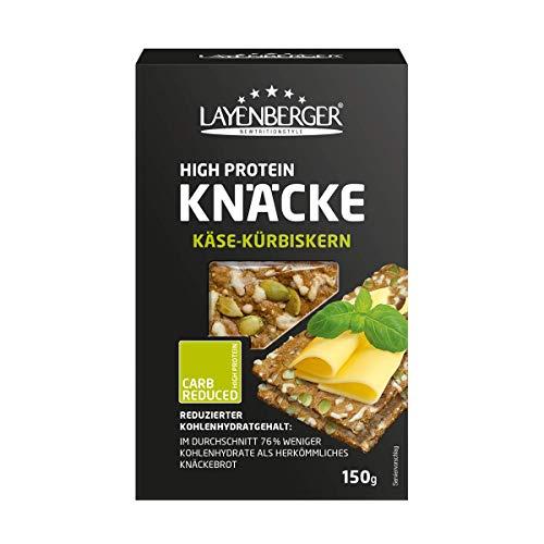 Layenberger High Protein Knäcke Käse-Kürbiskern, (1 x 150 g)