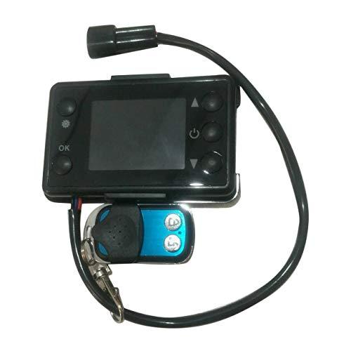 12 V / 24 V 3 / 5KW LCD Monitor Standheizung Schalter Auto Heizung Gerät Controller Universal für Auto Track Lufterhitzer (schwarz) DEjasnyfall