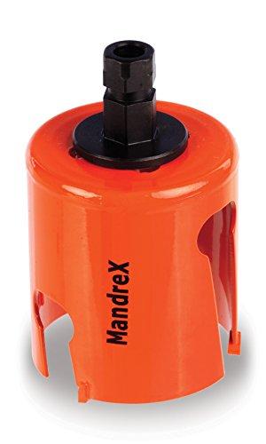 Mandrex MXqs - Mehrzweck-Lochsäge SuperXcut - Ø 140 mm TCT Hartmetall Mehrzwecklochsägen mit 60 mm Schnitttiefe - MHMQ0140B