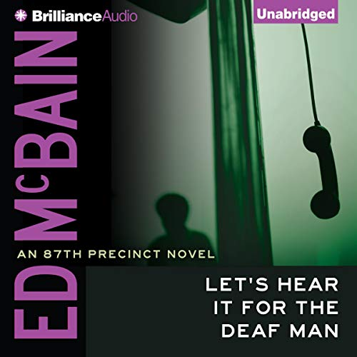 Let's Hear It for the Deaf Man audiobook cover art