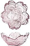 WQF Platos de Aperitivo Juego de 10 Mini tazones de Vidrio para Servir, 8,3 * 3,6 cm, día de la Madre para Las Fiestas del hogar para Amigos Plato de Salsa/Plato de condimentos