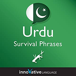 Learn Urdu - Survival Phrases Urdu, Volume 1 audiobook cover art