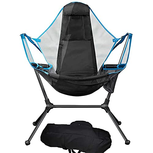 Knowoo Lightweight Folding Camp Chair - Portable Chairs with Bag Perfect for Camping, Festivals, Garden, Caravan Trips, Fishing, Beach and BBQs