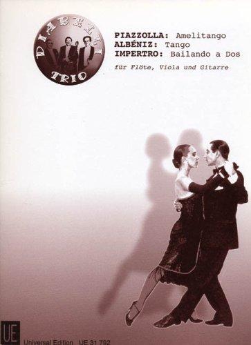 Amelitango + Tango + Bailando a Dos. Flöte, Viola, Gitarre