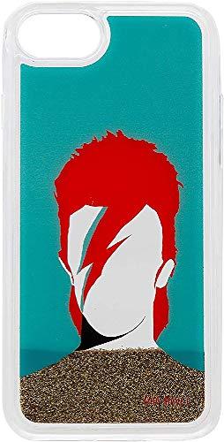 Coco Davez Funda Smartphone - Diseño Original David Bowie Compatible con Iphone 6 Plus / 6S Plus / 7 Plus / 8 Plus