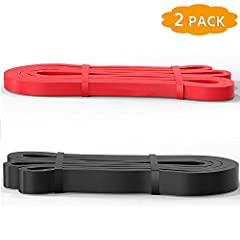 Regarded as one of the most economical exercise bands: pull up bands are made of 100% natural latex, Easily obtainable under 80 dollars with 5kinds of workout bands, most likely save half price compared to others' resistance band Safe and Multifuncti...