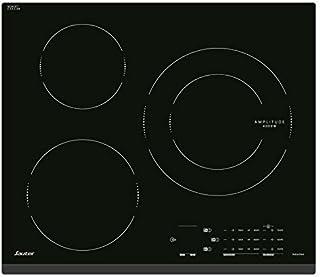 Sauter SPI4360B - Plaque à induction - Encastrable - 3 Foyers - 7200W - L60 x P52cm - Revêtement verre - Noir - Fabricatio...