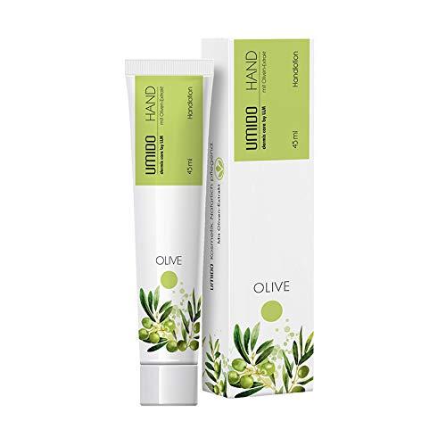 1x UMIDO Hand-Lotion 45 ml Oliven-Extrakt | Handcreme | Creme | Pflegecreme | Lotion | Hautpflege | Hand-Pflege