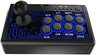 TANOU 7-En-1 Arcade Fighting Wired Rocker Game Console Game Handle para Switch / PS4 / / / PC / Tp4-1886