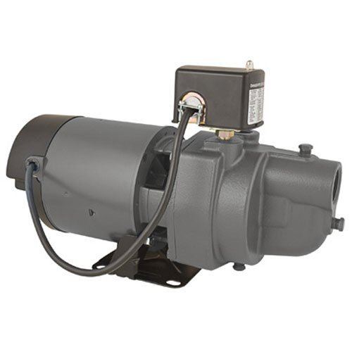 Star ES05S 1/2 HP Cast Iron Shallow Well Pump / Jet Pump - Made In the USA