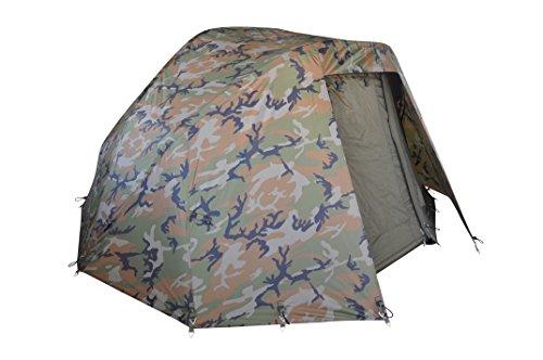 MK-Angelsport Winterskin für 5 Seasons Camouflage 2- Mann Dome (kein Zelt nur Überwurf), Carp Dome, Overwrap for Bivvy/Angelzelt