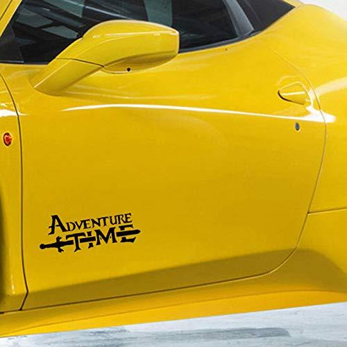 CTMNB Autosticker 17 cm x 6 cm Adventure Time Vinyl interessante sticker voor auto motorfiets