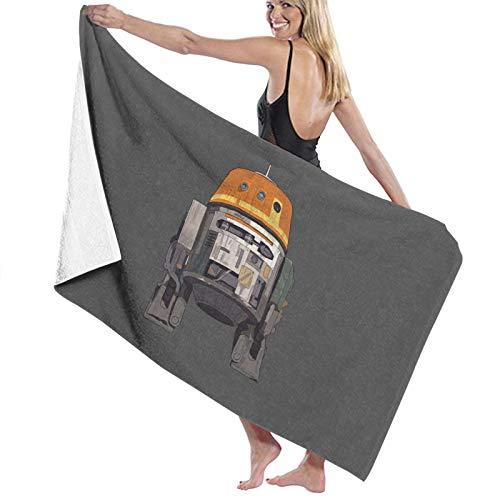 N\ Toalla de baño de secado rápido Star Wars Rebels Chopper