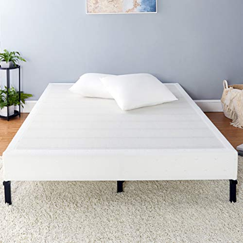 Amazon Basics Mattress Foundation, Smart Box Spring, Tool-Free Easy Assembly - 7-Inch, Queen