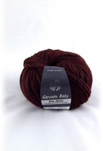 Lana Grossa Garzato Baby 005 rusty brown 50g Wolle