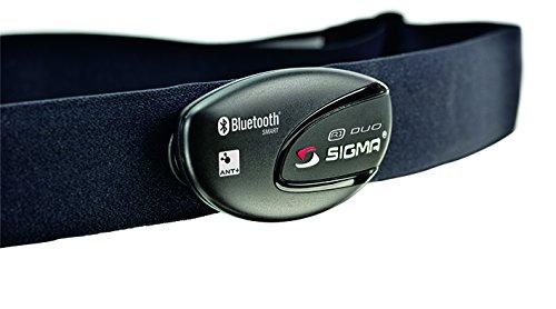 Sigma Sport Zubehör, R1 DUO Herzfrequenz Sender (ANT+/Bluetooth Smart) inkl. COMFORTEX+