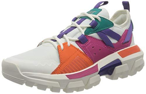 Cat Footwear Damen Raider Sport Sneaker, White Multi, 37.5 EU