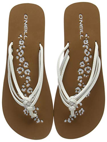 O'Neill Damen FW 3 Strap DISTY Sandals Riemchensandalen, Weiß (Powder White), 38 EU