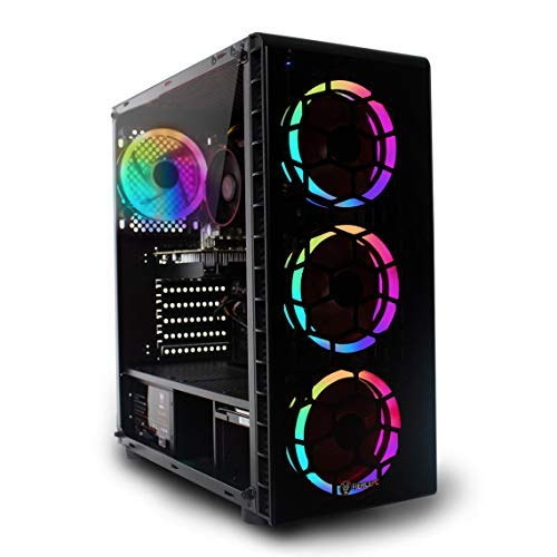 Fierce RGB Gaming PC - Intel Core i5 9400F 4.1GHz, GTX 1660 6GB, 16GB 3000MHz, 240GB Solid State Drive, 1TB Hard Drive, Windows 10 Installed (Crusader 1141828)
