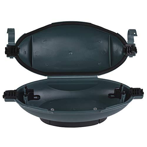 REV 0502174555 Kabelsafe, Kabelbox für Kupplung wasserdicht u. zugentlastend, schwarz