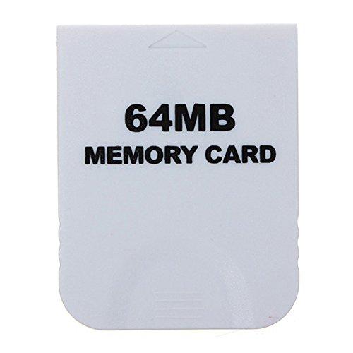 C-FUNN 64 Mb Speicherkarte Weiß Für Nintendo Wii & Gamecube