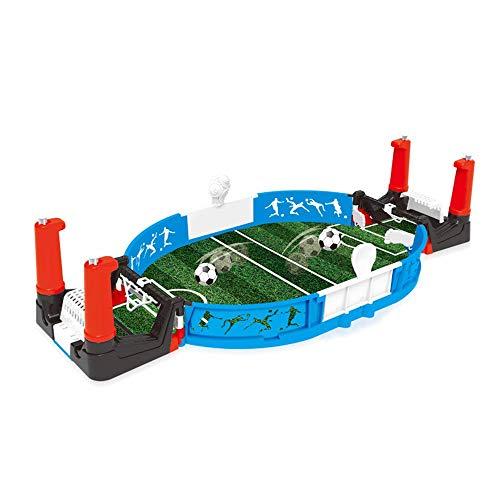 Lzdingli Mini Base Mesa Soccer Juego Doble Jugadores Fútbol Soccer Juego Interactivo Juguetes para Niños Y Adulto