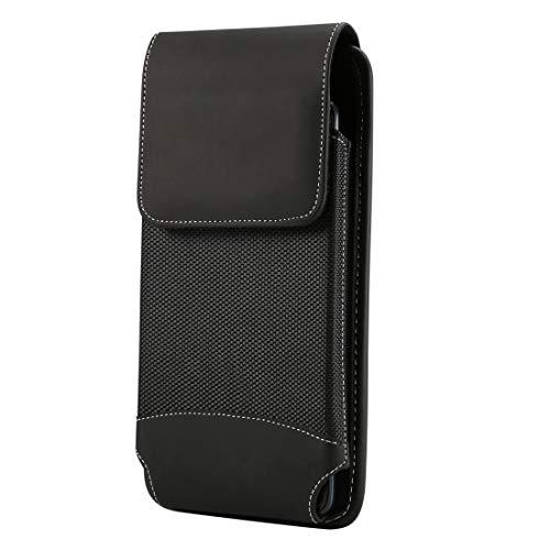 DACHENGJIN Estuche Universal for Colgar Cintura Oxford Funda de Tela For xiaomi Mi MAX/Mi MAX 2 / For Huawei Mate20X / Honor 8X MAX / Note10 / Note8 y Otros teléfonos móviles de 6.4-6.5 Pulgadas, co