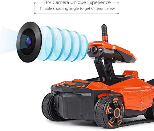Zhangl RC Serbatoio con videocamera HD con WiFi FPV Macchina Fotografica 0.3MP App Telecomando del carro Armato Giocattolo di RC Phone Controlled Robot Giocattolo Modello Gifts