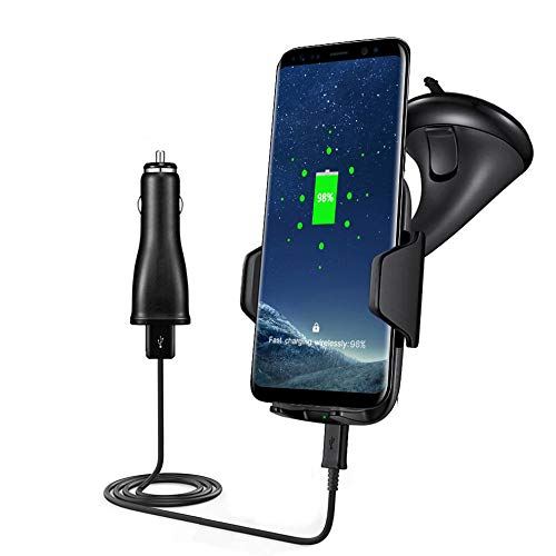 Eariy Qi Wireless Fast Charger Dock Autohalterung Lademontagepad Kompatibel Mit Samsung Note 8,Wireless Charger Ladepad,Handy Ladestation