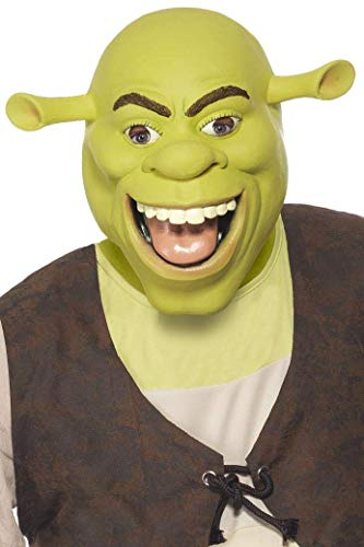 Shrek Latex-Maske, One Size