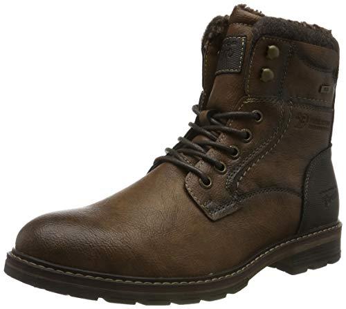 TOM TAILOR Herren 7985604 Klassische Stiefel, Braun (Nuts 00018), 41 EU