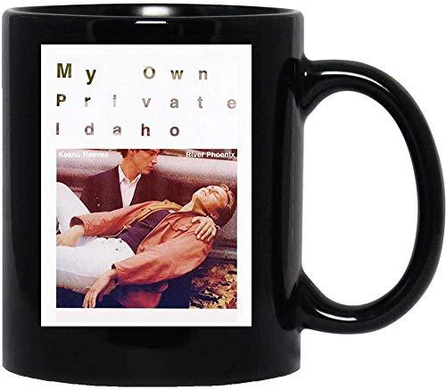 N\A Mi Propio Idaho Privado Gus Van Sant River Phoenix 90s Grunge Design Girl Cerámica Regalo Tazas Divertidas Tazas