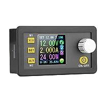 Akozon統合電圧電流計モジュール定電圧プログラマブルステップダウン電源カラーLCDバックコンバータ0-5.000A0-160.0W / 0-250.0Wパワーバックモジュール出力短絡逆接続保護機能(DPS3005)