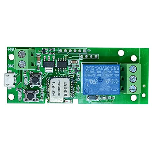 KU Syang MóDulo de Relé de Radio Wifi con Interruptor USB de 5 V, con FuncióN de Control de Voz Alexa, Utilizado para el Sistema de Control de Acceso con Autobloqueo
