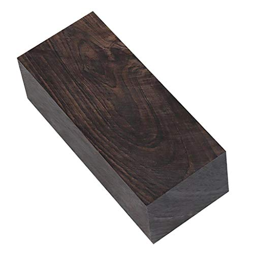 harayaa Hartholz Holz Hobby Holz-Ebenholz Holz. Holz Hobby Holz Griff Grenadill Werkzeug, 120x40x50mm