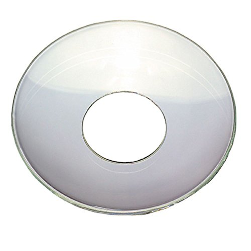 TrendLight 890033-10 Candle Wax Catchers Pack of 10 Inner Diameter 25 mm Clear Glass
