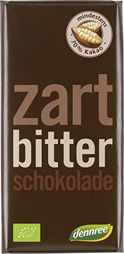 dennree Bio Zartbitterschokolade (6 x 100 gr)