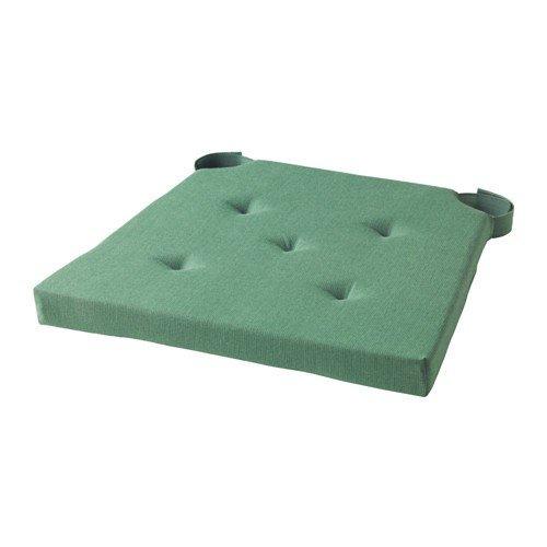 Ikea Justina - Cuscino per sedia, colore: Verde
