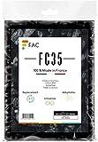 universal Aktivkohlefilter/Aktiv-Kohlefilter für jede Dunstabzugshaube geeignet- zuschneidbar - 47x57cm - Set Fettfilter + Aktivkohle für geruchsfreie Küche