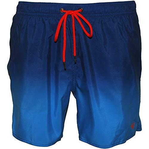Emporio Armani Underwear 9p435 Costume da Bagno, Turchese (Turchese 00032), Large (Taglia Produttore: 52) Uomo