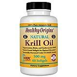 Healthy Orgins Krill Oil Gels, 500 mg, 60 Count