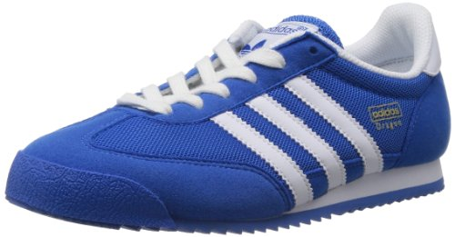 adidas Dragon, Unisex-Kinder Sneakers, Blau, 36 2/3 EU
